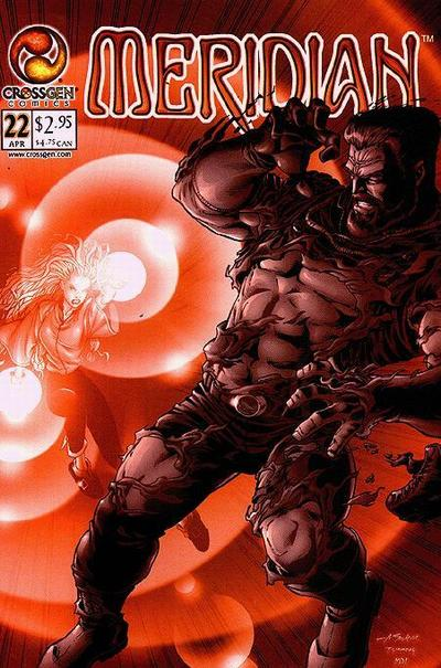 Cover for Meridian (CrossGen, 2000 series) #22