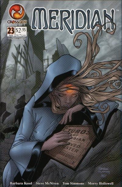 Cover for Meridian (CrossGen, 2000 series) #23