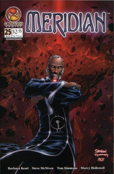 Cover for Meridian (CrossGen, 2000 series) #25