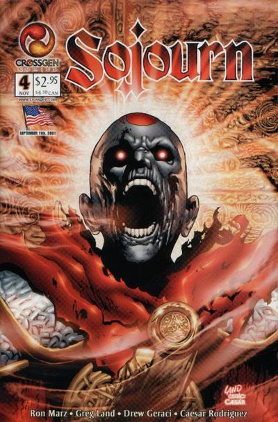 Cover for Sojourn (CrossGen, 2001 series) #4