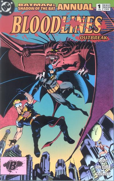 Cover for Batman: Shadow of the Bat Annual (DC, 1993 series) #1