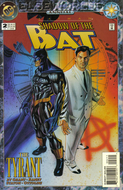 Cover for Batman: Shadow of the Bat Annual (DC, 1993 series) #2