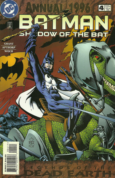 Cover for Batman: Shadow of the Bat Annual (DC, 1993 series) #4