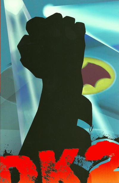 Cover for The Dark Knight Strikes Again (DC, 2001 series) #1 [With Title Banner]