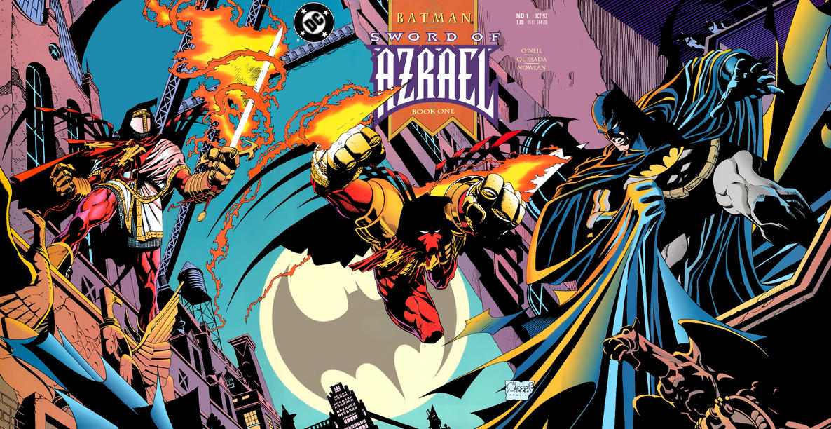Cover for Batman: Sword of Azrael (DC, 1992 series) #1