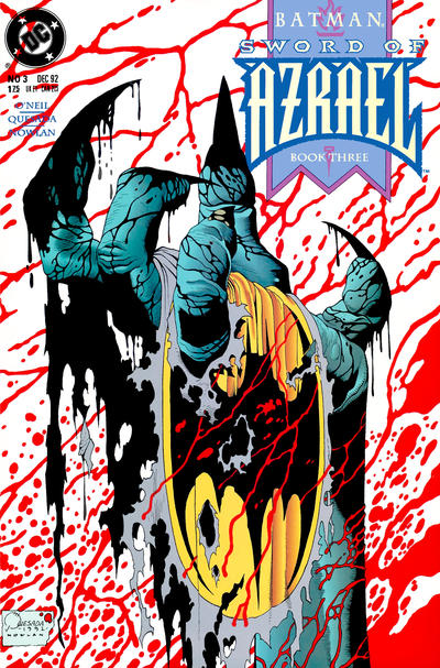 Cover for Batman: Sword of Azrael (DC, 1992 series) #3