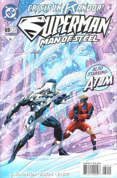 Cover for Superman: The Man of Steel (DC, 1991 series) #69