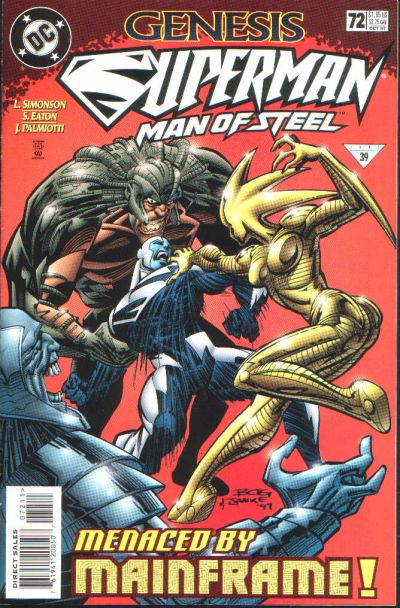 Cover for Superman: The Man of Steel (DC, 1991 series) #72
