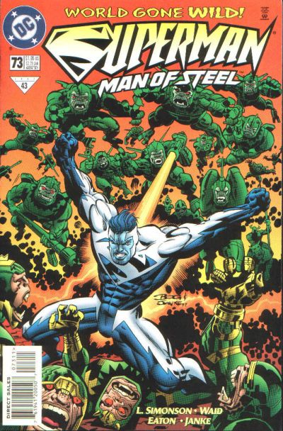 Cover for Superman: The Man of Steel (DC, 1991 series) #73