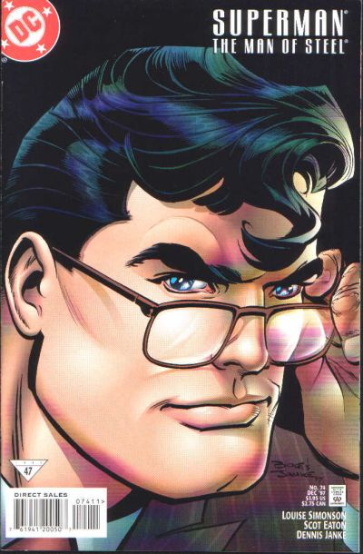 Cover for Superman: The Man of Steel (DC, 1991 series) #74