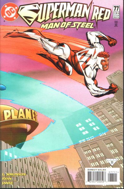 Cover for Superman: The Man of Steel (DC, 1991 series) #77
