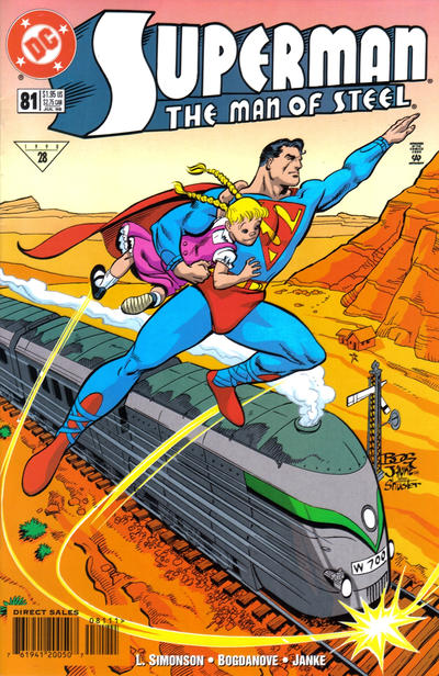 Cover for Superman: The Man of Steel (DC, 1991 series) #81