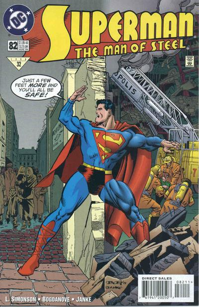 Cover for Superman: The Man of Steel (DC, 1991 series) #82