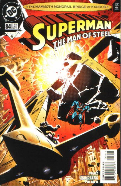 Cover for Superman: The Man of Steel (DC, 1991 series) #84