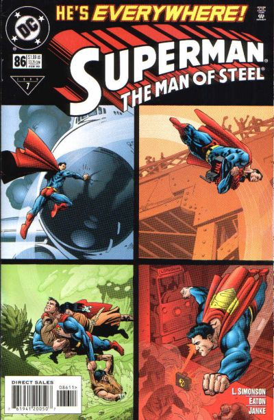 Cover for Superman: The Man of Steel (DC, 1991 series) #86