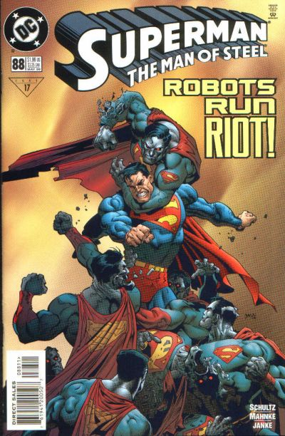 Cover for Superman: The Man of Steel (DC, 1991 series) #88