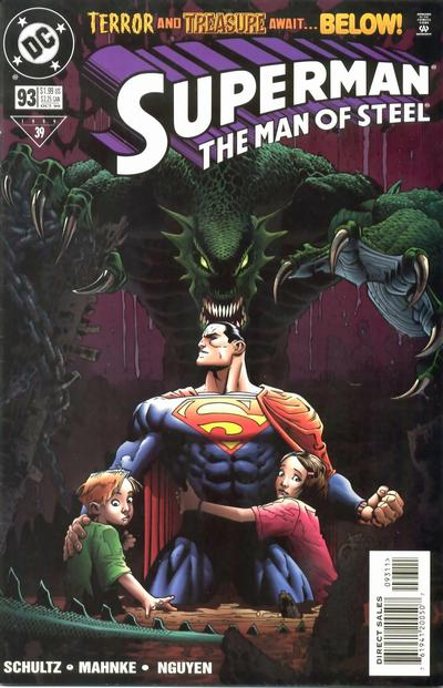 Cover for Superman: The Man of Steel (DC, 1991 series) #93