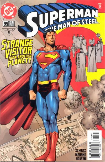 Cover for Superman: The Man of Steel (DC, 1991 series) #95