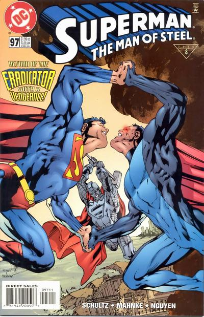 Cover for Superman: The Man of Steel (DC, 1991 series) #97