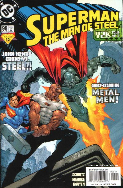 Cover for Superman: The Man of Steel (DC, 1991 series) #98