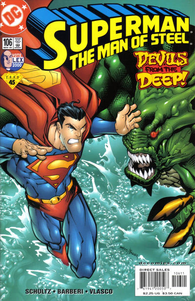 Cover for Superman: The Man of Steel (DC, 1991 series) #106