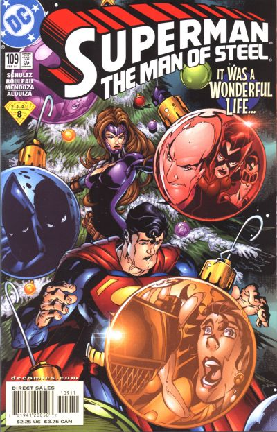 Cover for Superman: The Man of Steel (DC, 1991 series) #109 [Direct Edition]