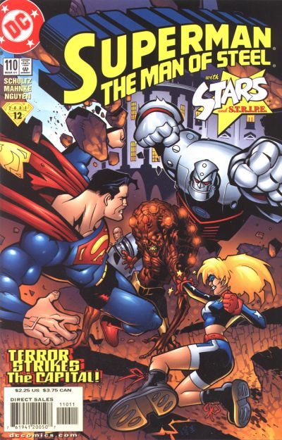 Cover for Superman: The Man of Steel (DC, 1991 series) #110
