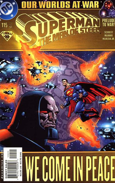 Cover for Superman: The Man of Steel (DC, 1991 series) #115