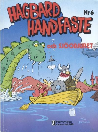 Cover for Hagbard Handfaste (Hemmets Journal, 1977 series) #6