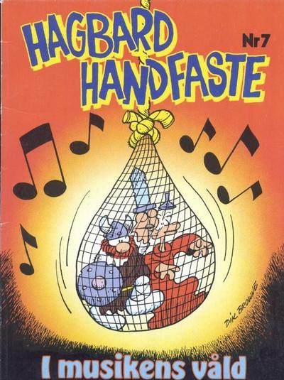 Cover for Hagbard Handfaste (Hemmets Journal, 1977 series) #7