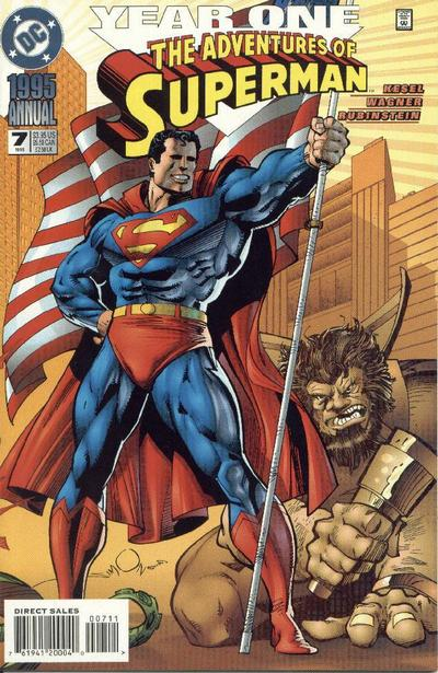 Cover for Adventures of Superman Annual (DC, 1987 series) #7