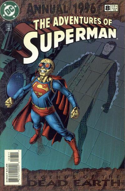 Cover for Adventures of Superman Annual (DC, 1987 series) #8