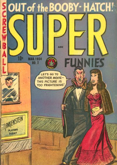 Cover for Super Funnies (Superior Publishers Limited, 1953 series) #2