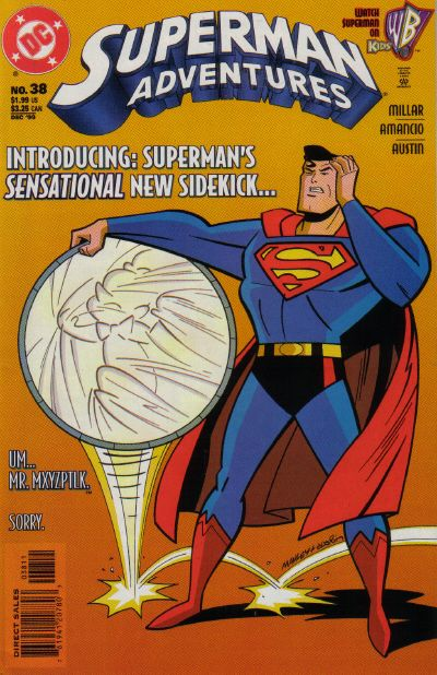 Cover for Superman Adventures (DC, 1996 series) #38
