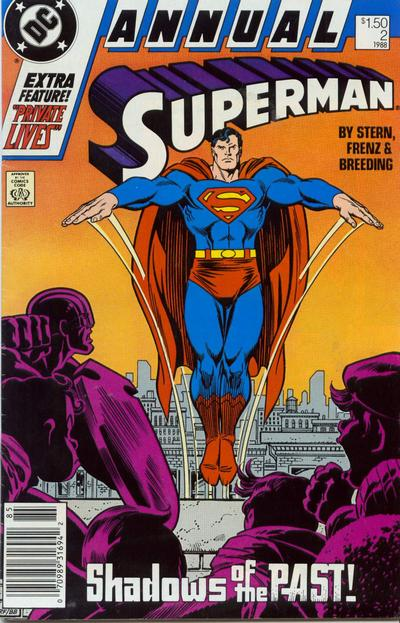 Cover for Superman Annual (DC, 1987 series) #2 [Direct Sales]