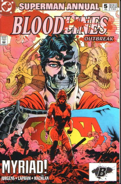 Cover for Superman Annual (DC, 1987 series) #5