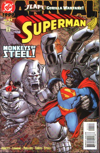 Cover for Superman Annual (DC, 1987 series) #11