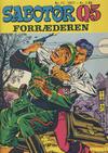 Cover for Sabotør Q5 (Serieforlaget / Se-Bladene / Stabenfeldt, 1971 series) #11/1971