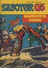 Cover for Sabotør Q5 (Serieforlaget / Se-Bladene / Stabenfeldt, 1971 series) #6/1971