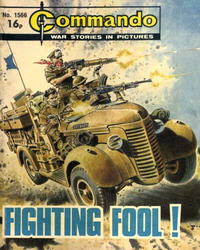 Cover Thumbnail for Commando (D.C. Thomson, 1961 series) #1566