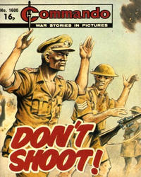 Cover Thumbnail for Commando (D.C. Thomson, 1961 series) #1600