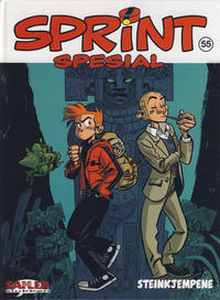 Cover Thumbnail for Sprint [Seriesamlerklubben] (Hjemmet / Egmont, 1998 series) #55 - Steinkjempene