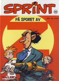 Cover for Sprint [Seriesamlerklubben] (Hjemmet / Egmont, 1998 series) #56 - På sporet av Z