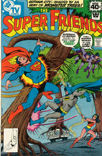 Cover Thumbnail for Super Friends (DC, 1976 series) #20 [Whitman Variant]