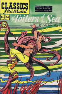 Cover Thumbnail for Classics Illustrated (Gilberton, 1948 series) #56