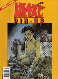 Cover Thumbnail for Heavy Metal Special Editions (Heavy Metal, 1981 series) #v8#1 - Pin-Up