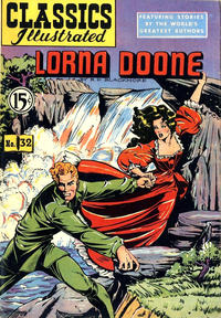 Cover Thumbnail for Classics Illustrated (Gilberton, 1948 series) #32