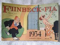 Cover Thumbnail for Fiinbeck og Fia (Hjemmet / Egmont, 1930 series) #1934