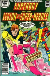 Cover Thumbnail for Superboy & the Legion of Super-Heroes (DC, 1977 series) #258 [Whitman]