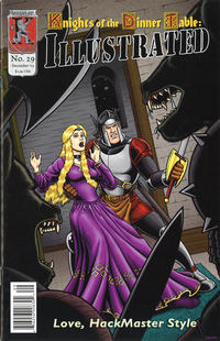 Cover Thumbnail for Knights of the Dinner Table Illustrated (Kenzer and Company, 2000 series) #29